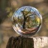 Ball shape glass art