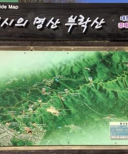 Buraksan Map Guide in Osan, South Korea