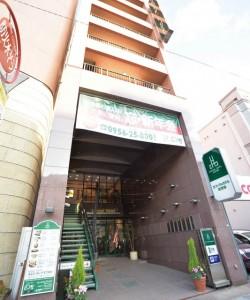 Central Hotel in Sasebo, Japan