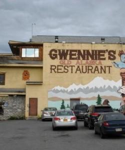 Gwennies Old Restaurant in Alaska