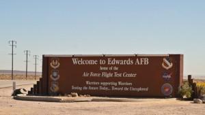 edwards air force base-sign