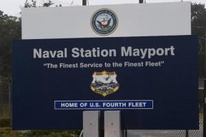 Naval Station Mayport-sign