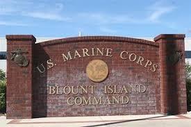 Blount Island Command sign