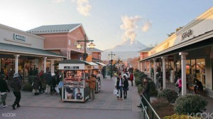 Gotemba Outlets in Japan