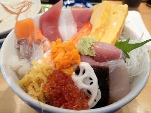 Sushi Restaurant in Gotemba, Japan