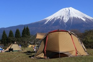 Outdoor Camping in Gotemba, Japan