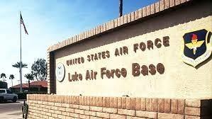 luke air force base-sign