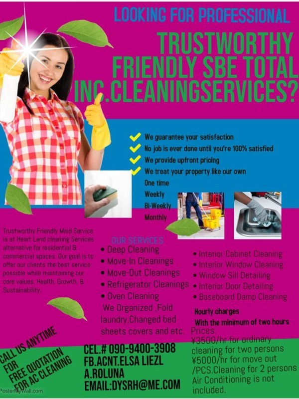 Sasebo Professional Home Cleaning Service