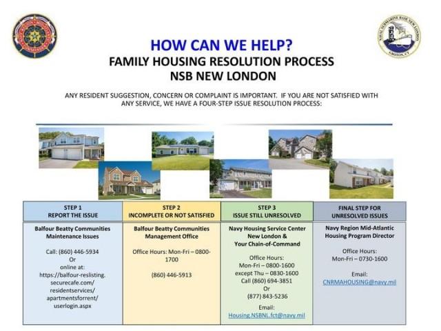 Housing Service Center - NSB New London