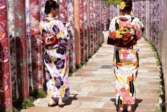Kimono Wearing Experience