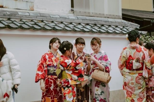 Kimono Wearing Experience A