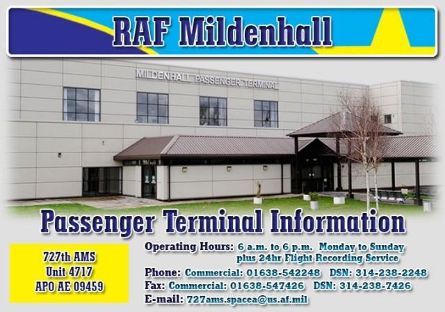 RAF Mildenhall Passenger Terminal