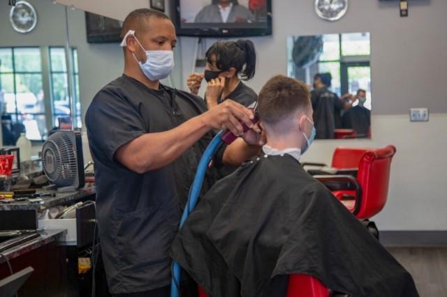Barber Shop - Camp Fuji